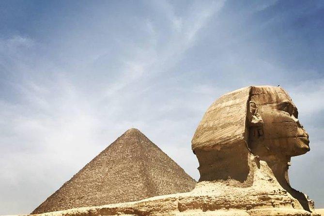 Full day Giza Pyramids, Sphinx,Valley Temple,Step pyramid & King Titi in Sakkara
