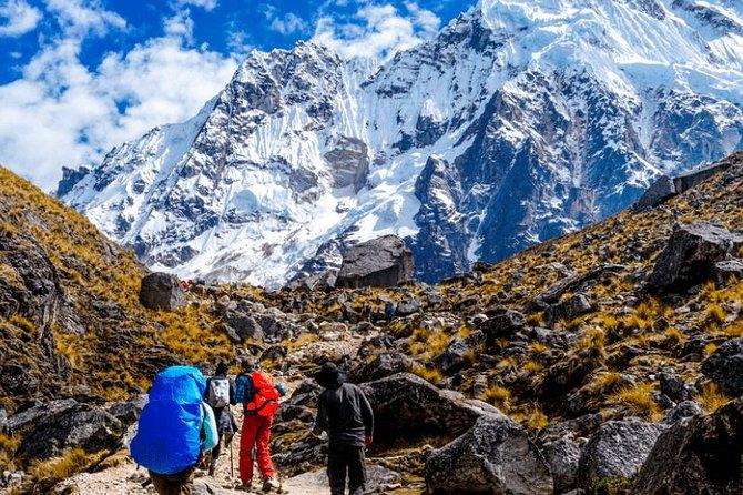 From Cusco Salkantay trekking 2 days with Humantay Lake