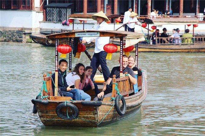 Zhujiajiao Water Town e Xangai destacam viagem particular com motorista inglês