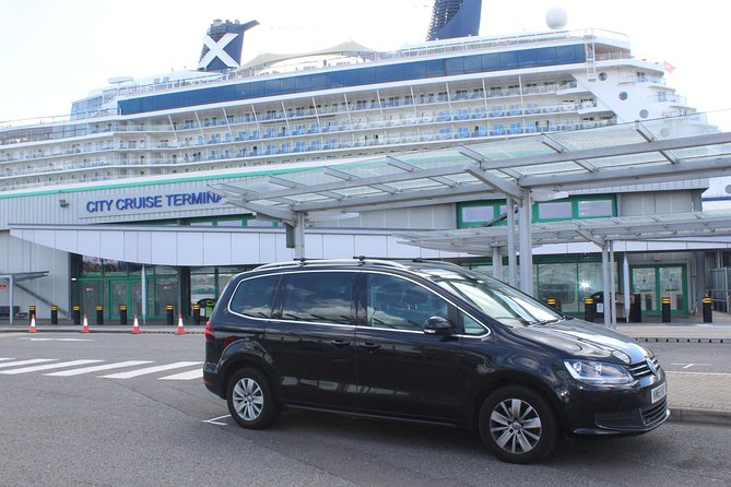 One Way or Round Trip Private Transfer from London to Southampton Cruise Port