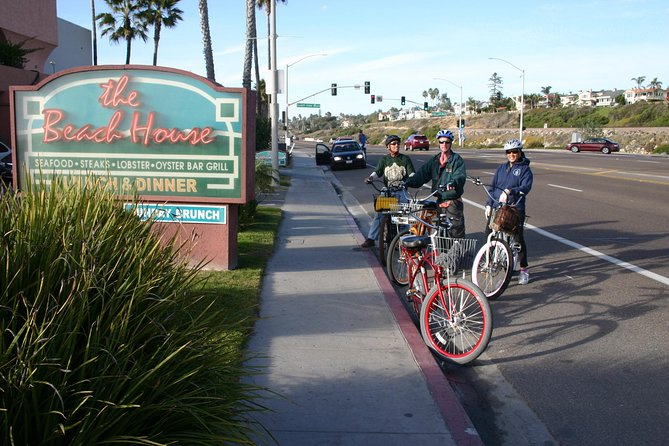 Electric Bike and Train Coastal Tour of Solana Beach