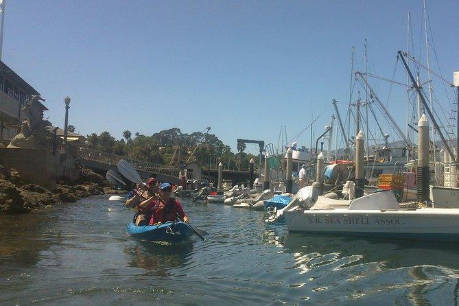 Having fun in Santa Barbara Harbor