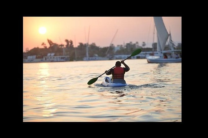 Private Nile Kayaking Ride at Sunset