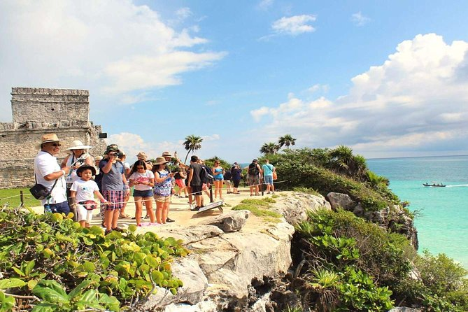 Full Day Tour to Coba, Playa del Carmen, Tulum and Cenote Swim Included