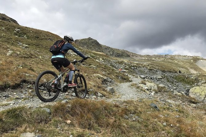 One of our ebikes in action