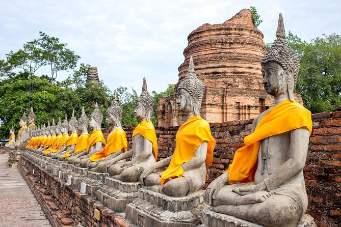 Ayutthaya Ancient Temples Tour from Bangkok by Road (Multi Languages)