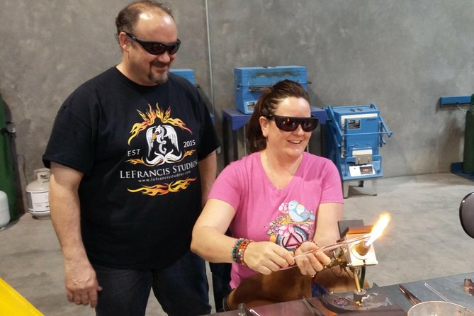 Private Adventure in Glassblowing by Torch