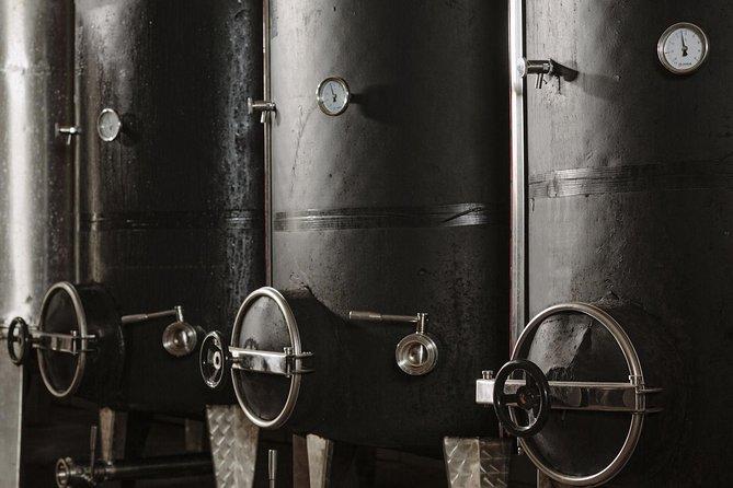 Santorini's famous wine degustation
