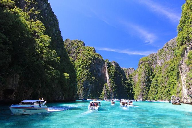 Maya Bay Phi Phi Islands Tour by speed boat