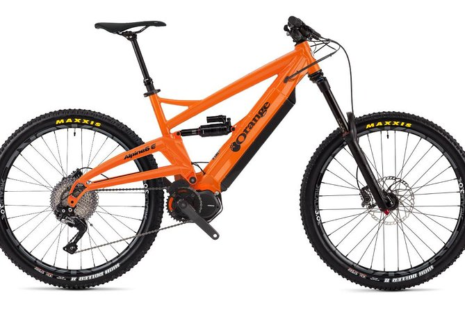 Rent -Electric MTB Orange Alpine 6ES 2019