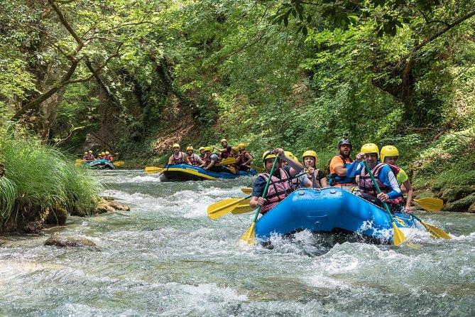 Rafting Lousios river