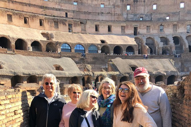 Skip the line Coliseum, Roman Forums, Trevi Fountain, Navona Square & Pantheon