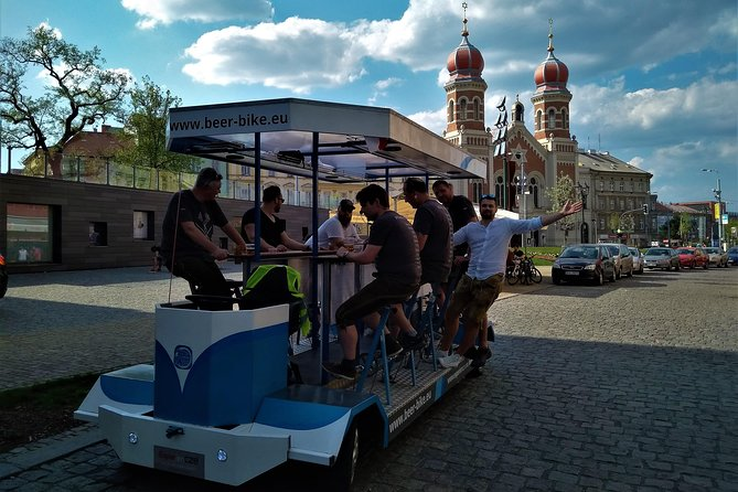 Sightseeing Tour in the Czech Republic: Beer Bike in Pilsen