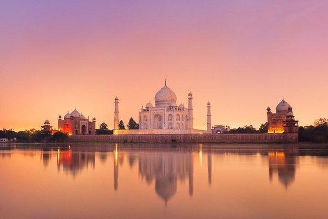 Taj Mahal Sunrise & Agra Fort Tour By Car - From Delhi