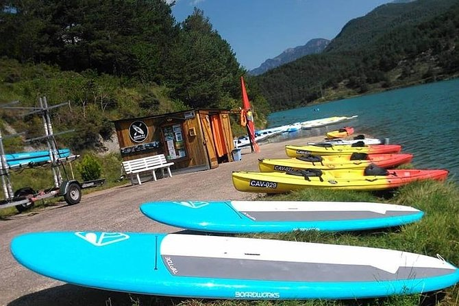 Hire of Kayak and Paddle Surf in La llosa del cavall