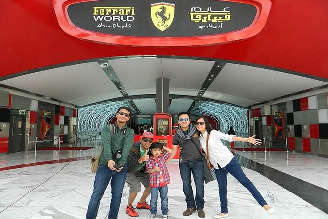 Full-Day Guided Shiek Zayed Mosque & Ferrari World Tour from Dubai with Transfer