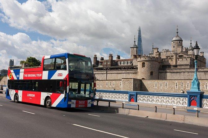 The Original Tour London: Hop-On Hop-Off Bus Tour & London Tower