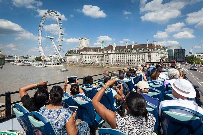 The Original Tour London: Hop-On Hop-Off Bus Tour & London Eye