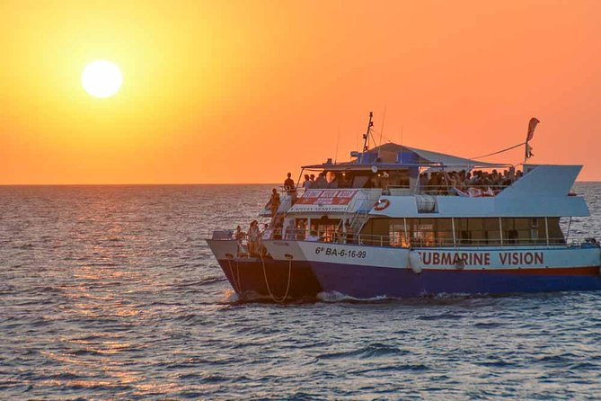 Sunset Sightseeing Cruise with Live Music, Swimming and snorkelling - 29€