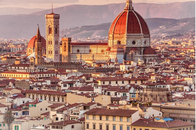 Uphill to Piazzale Michelangelo & San Miniato Basilica Panoramic Walking Tour