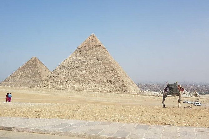 Giza pyramids with Camel Ride & Egyptian Museum