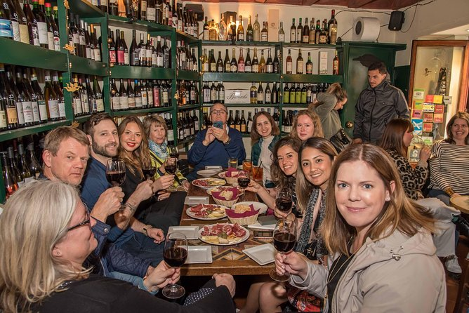 Small Group Historical Food & Wine Tour Trastevere