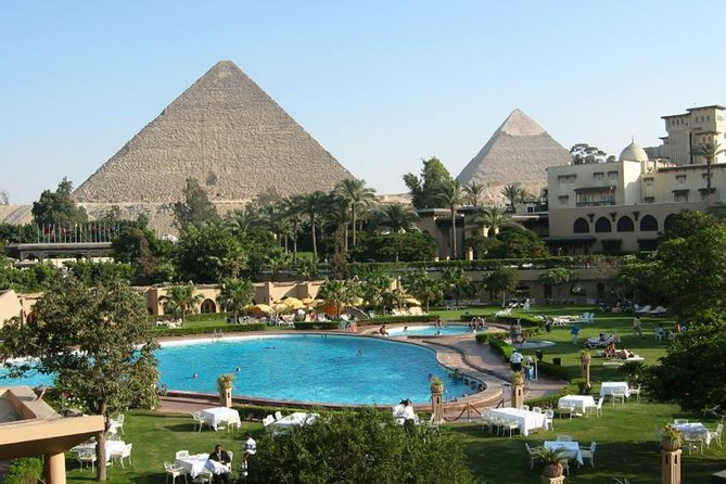 Fab Experience to Giza pyramids with Camel ride plus Lunch in Mena House Hotel