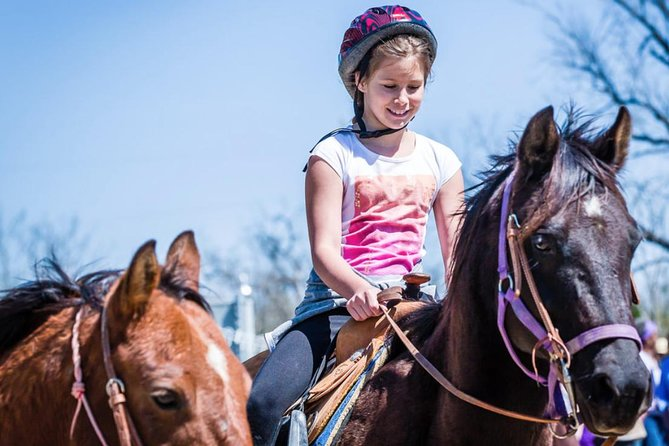 Pony Lead a Fun Experience for Young Children