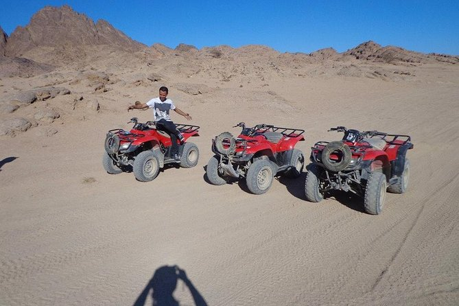 Sunset 5 Hours Quad biking from hurghada sahl hashesh makadi bay al gouna safaga