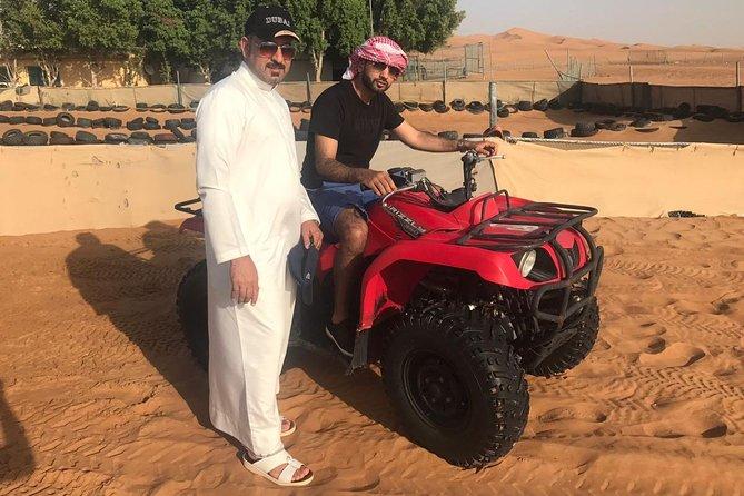 Dubai Trio Tours: Desert Safari with Dinner,Dubai City Tour & Dhow Cruise Dinner
