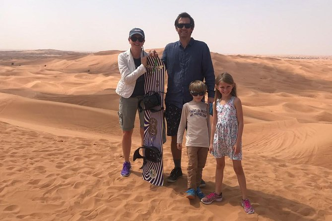 Morning Desert Safari with Sand boarding and Camel Ride photo 3