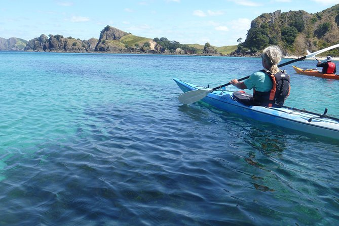 Sea kayak day trip Whangaroa harbour photo 3