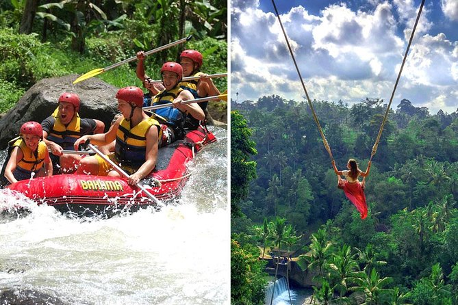 Ayung White Water Rafting and Bali Swing Packages