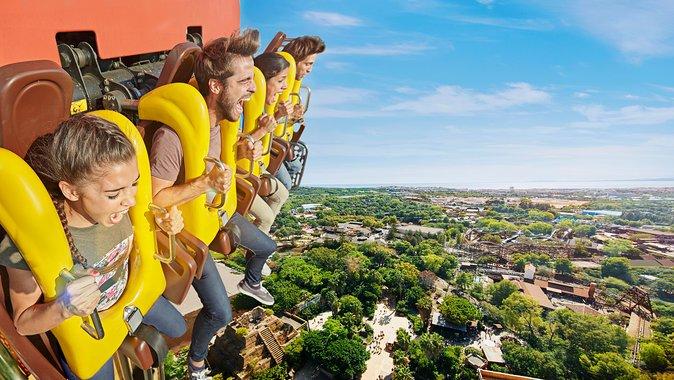 Skip the Line: PortAventura Park & Caribe Aquatic Park, & Ferrari Land Ticket