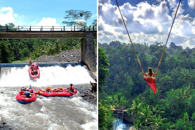 Telaga Waja Rafting and Bali Swing Packages