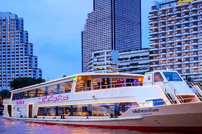 Chaophraya Princess Dinner Cruise Tour from Bangkok with Transfer