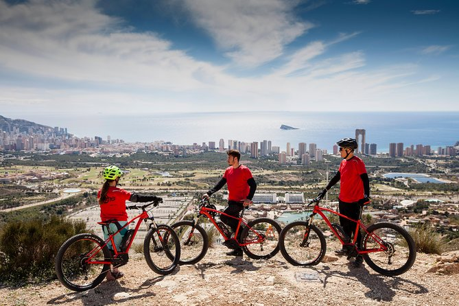 Guided routes in E-MTB