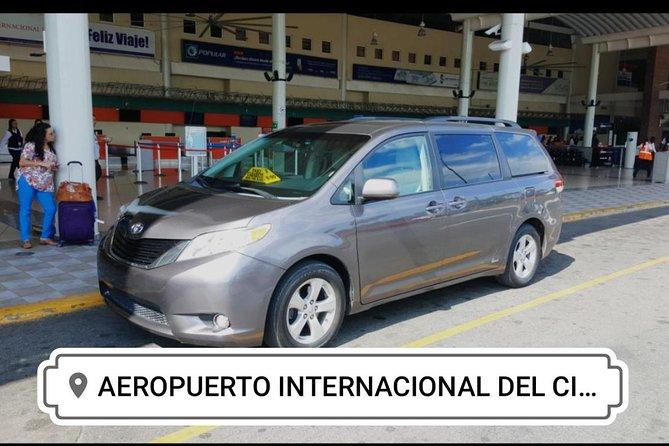 Santiago Airport to Cabarete area