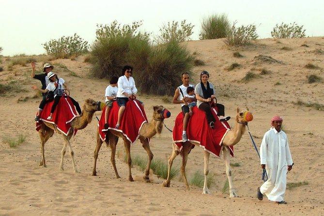 Dubai Desert Safari with BBQ Dinner & Camel ride Pickup from RAK