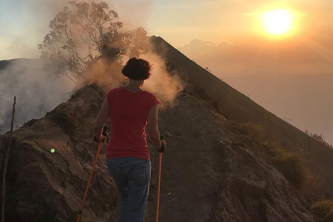 Small-Group Mount Batur Sunset Alternative Trek with Pickup
