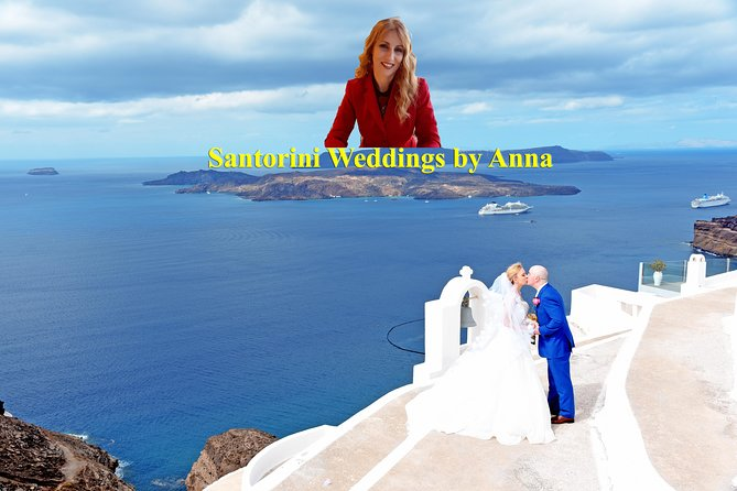 Santorini Weddings by Anna with 25 years of experience.