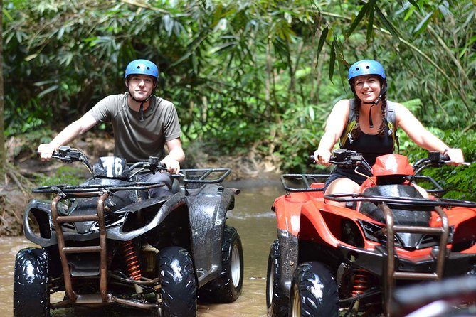 Jungle ATV Quad Bike Ride at Bali Taro Adventure