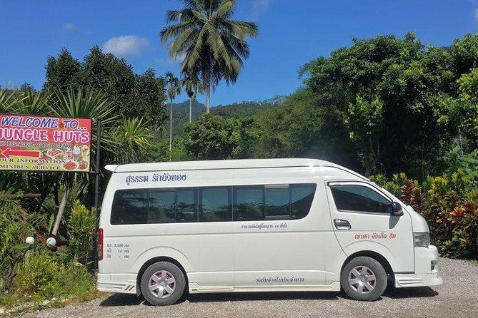 Koh Samui to Khao Sok by Lomprayah High Speed Catamaran and Shared Minivan