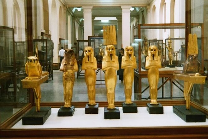 Egyptian museum & pyramids with Camel Ride and Lunch 8 Hours Private Tour