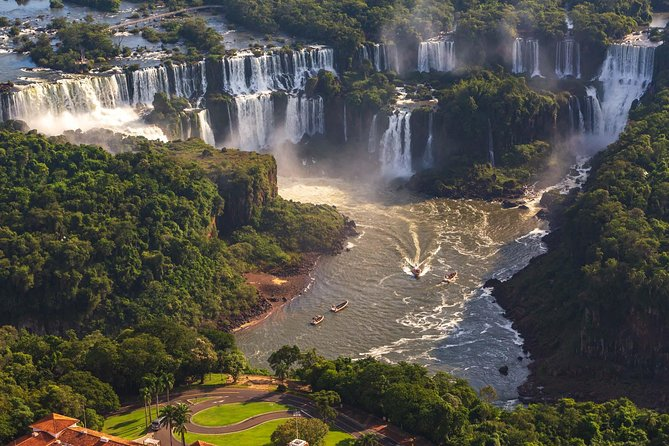 Argentinian Side of the Falls and Boat Tour Gran Aventura - All Tickets Included