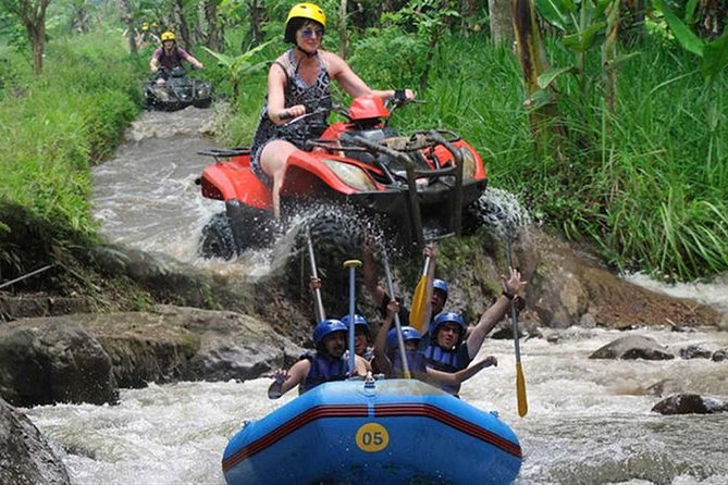 Best Combination: Quad Biking and White Water Rafting