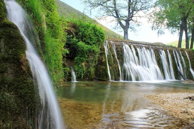 Trekking Through Springs, Caves And Waterfalls With Delicious Tasting- Umbria