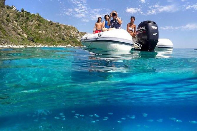 (MORNING) Excursion COSTA DEGLI DEI - Snorkeling from Capo Vaticano to Tropea
