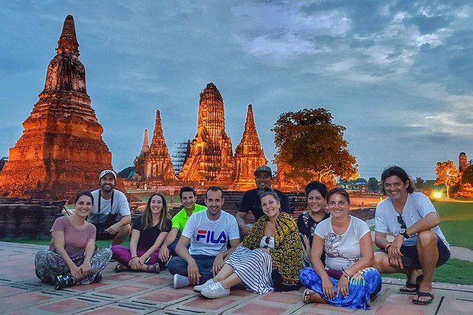 Floating Market, Train Market & Ayutthaya tour - 14hr VIP All Inclusive
