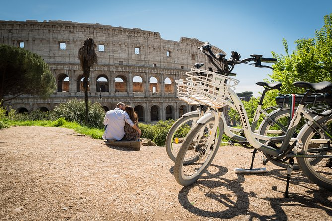 # 8-hour e-Bike rental on the Lungotevere cycle path (Villa Borghese height)